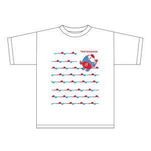 てんタマくんTシャツ(クレヨン天気・前線ボーダー) tnc-netshop