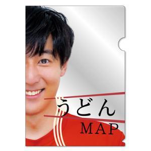 うどんMAP クリアファイル(ゆうパケット対応)|tnc-netshop