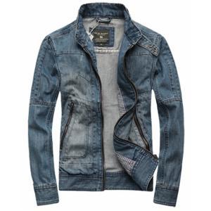 デニムジャケット メンズ ライダースジャケット 在庫限りの価格 通常売価10,165円