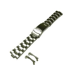 〔セイコー〕SEIKO 時計バンド 20mm ステンレスブレス バンド(ベルト) 海外モデル SND255, SND253 メンズ 4997JG|tnp-store