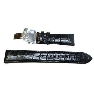 〔セイコー〕SEIKO 20mm 時計バンド メカニカル プレザージュ純正ベルト クロコダイル 黒 SARD005 SARD009 純正 L07Y017J9 メンズ|tnp-store