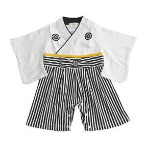 Aenak 袴ロンパース 白 90cm tnp-store