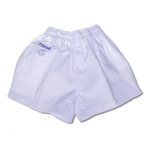 体操服 男子白短パン(180B ゆったりサイズ)