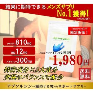 【公式】増大サプリのアプソルシン お試しパック