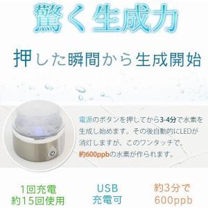 スーパーSALE!!【新品】 SKR コンパクト水素水生成器ボトル H60005 ブルー|to-rulease|04
