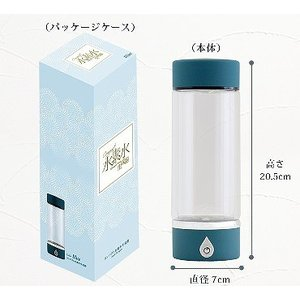 スーパーSALE!!【新品】 SKR コンパクト水素水生成器ボトル H60005 ブルー|to-rulease|05