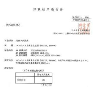 スーパーSALE!!【新品】 SKR コンパクト水素水生成器ボトル H60005 ブルー|to-rulease|06
