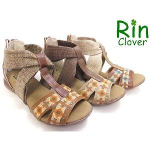 Rin Clover リンクローバー 601 楽ちんぺたんこサンダル|toare