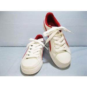 PUMA プーマ 352529 ホワイト/リボンレッド/キャスターグレイ|toare