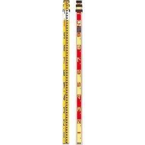 SK|TAIHEI 大平産業 SKTアルミスタッフ 3m3段 SKT-33R 重さ1.2kg 横断測量/土木/水準測量/高低差/地籍調査/建築/標尺/箱尺|tobeyaki