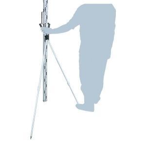 SK|TAIHEI 大平産業 標尺用如意棒 LRA-S 伸縮式 水準測量/高低差/スタッフ/標尺スタンド/箱尺|tobeyaki