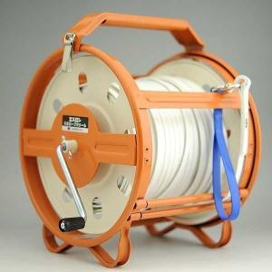 セキスイ エスロン測量ロープ 100mケース付き [山林 水面 港湾測量]|tobeyaki