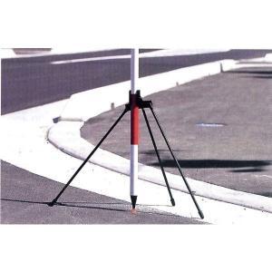ハイビスカス ポールホルダーS 三脚タイプ PH-S 脚長490mm 水準測量 土木 地籍調査|tobeyaki