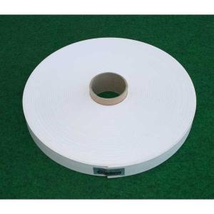 Glaken ブーブーライン(ロールタイプ) 3cm幅 白 50m巻 BBL3-50 (釘別売り) [駐車場駐 輪場専用ラインテープ 駐車場ライン引き]|tobeyaki