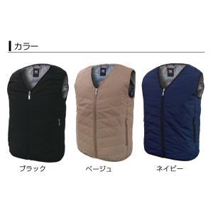 BRAIN ブレイン BR-078 ヒーター内蔵型中綿入り防寒インナーベスト カラーとサイズを選択 バッテリーは別売り|tobeyaki
