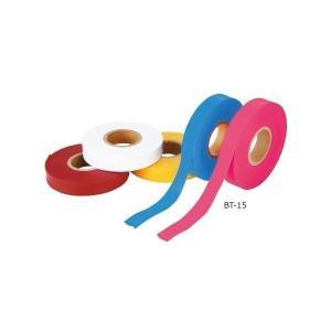 MYZOX マイゾックス ビニールテープ 黄 15mm幅 50m BT-15Y [植林 樹木用ビニールテープ 領域表示 目印テープ]|tobeyaki