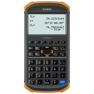 CASIO カシオ 土木測量専業電卓 fx-FD10 Pro (土木用) [測量電卓 関数電卓 IP54防水防塵]|tobeyaki