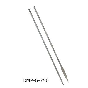myzox マイゾックス DM用ピンポール 6mmφ740mm (2本継) DMP-6-740A ステンレス [コードNo223448]|tobeyaki