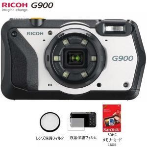 新品 リコー RICOH G900 現場仕様 デジタルカメラ 通常モデル 現場用デジカメ オリジナル特典のオマケ付き|tobeyaki