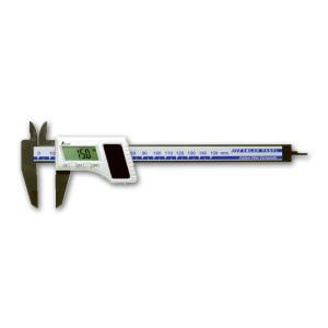 シンワ測定 19981 デジタルノギス カーボンファイバー製 150mm ソーラーパネル|tobeyaki