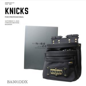KNICKS ニックス バリスティック生地チェーンタイプ腰袋 アルミ金具仕様 作業工具 BA-301DDX|tobiwarabiueda