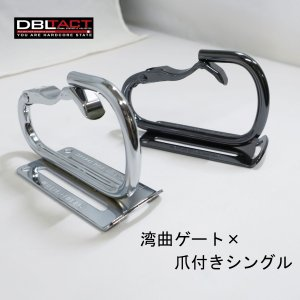 【DBLTACT】カラビナ工具差し 湾曲ゲート×爪付き シングル DT-THB-811|tobiwarabiueda