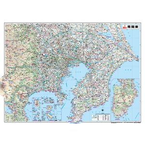 南関東全図