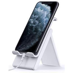 Lomicall 折り畳み式 スマホ スタンド ホルダー 角度調整 可能, スマートフォン 携帯 置...
