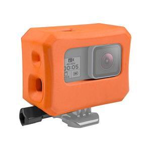 【バッグ内容】フロートケースx1(オレンジ色);ネジx1。 【対応機種】GoPro HERO 5・G...