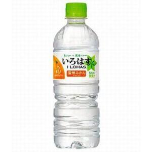 コカ・コーラ い・ろ・は・す(I LOHAS)みかん 555ml×24本入|tochishou