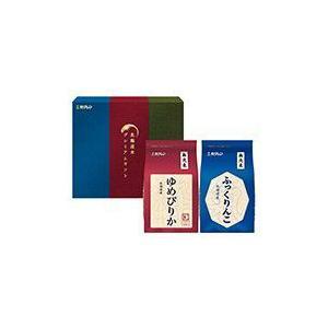 新米 北海道産米 令和元年度産 ホクレンパールライス プレミアムギフトMSK(無洗米ふっくりんこ・ゆめぴりか各2kg)|tochishou
