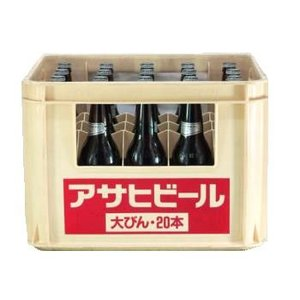 アサヒスーパードライ大瓶 633ml瓶×20本|tochishou
