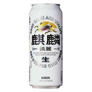 キリン 淡麗生 500ml×24本|tochishou