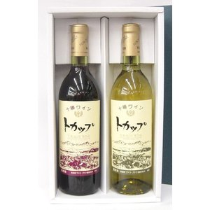 十勝ワイン トカップ 赤/白 各720ml セット|tochishou