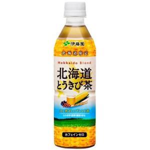 伊藤園 北海道とうきび茶 500ml×24本|tochishou