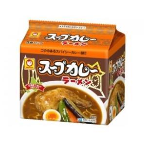 東洋水産株式会社 マルちゃん スープカレーらーめん 5食パック|tochishou