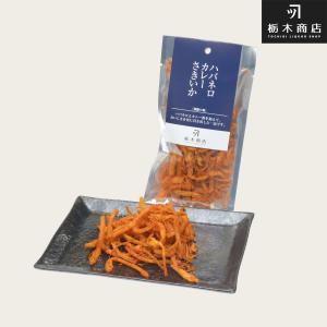 北海道 珍味 いか つまみ 乾き物 栃木商店 酒屋の肴 ハバネロカレーさきいか|tochishou