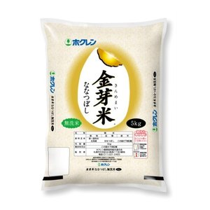 北海道産米 無洗米 平成30年度産 ホクレンパールライス 金芽米ななつぼし 5kg|tochishou