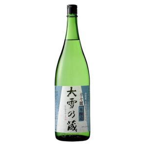 本醸造 大雪乃蔵 辛々麗 1.8L|tochishou
