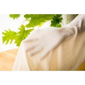 シルク腹巻き 夏用 ロング丈 60cm フリーサイズ 絹 シルク99% 日本製|tocochan|06