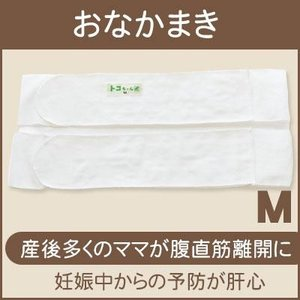 おなかまき Mサイズ 腹直筋離開の予防改善用品おなかを支え腰痛対策[M便 1/3] ネコポス可 メール便可|tocochan