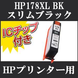 HP (ヒューレット・パッカード) 互換インクICチップ付き HP178 BK (ブラック) CN684HJ 単品1本 Photosmart 6510 6520 6521 B109A C5380 C6380 D5460 B209A|todai