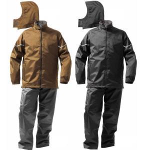 Makku(マック)WAZA-ARI 防水防寒スーツ上下セット AS-3200(レインウェア レインコート レインスーツ 合羽)|todakana