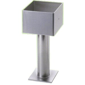 西潟 ステンレス柱脚金物 120mm角 電解研磨仕上|todakana