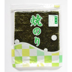 海苔 焼海苔 青混ぜ 焼き海苔 1帖(全型10枚入) todanori