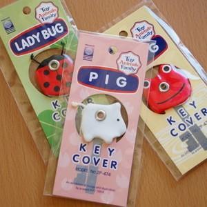 アニマルキーカバー FROG(カエル) PIG(ブタ) LADYBUG(テントウムシ) ハットトリック|today