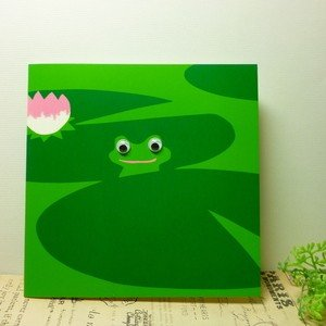 the art group 多目的カード goggle eyes Froggle カエル|today