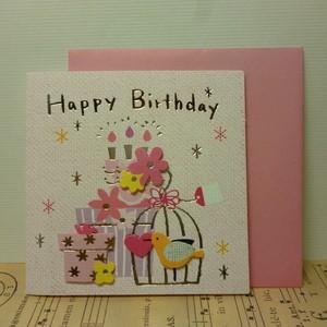 ギフトカード Birthday ミニカード 誕生日カード プレゼント|today