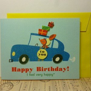 Greeting Card Happy Birthday 誕生日カード バースデーカー|today