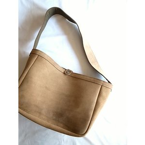 FERNAND LEATHER フェルナンドレザー ラージショルダーバッグ BIG MOUTH BAG/BEIGE SUEDE todayistheday